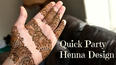 henna design diy diy henna design quick 15 minute party mehndi tutorial
