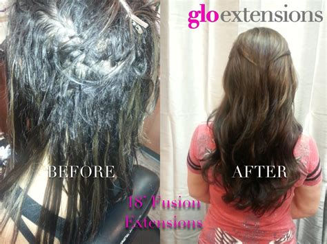 hair extensions for short hair before after hair extensions in short layered hair before and after