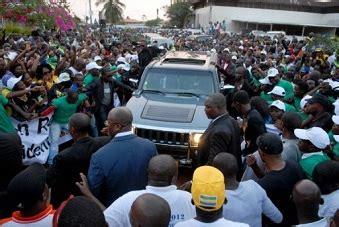 André Mba Obame Est Mort by Grioo Gabon Andre Mba Obame De Retour Au Pays