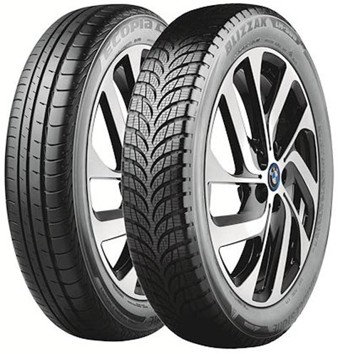 bridgestone releases details on the bmw i3 tires