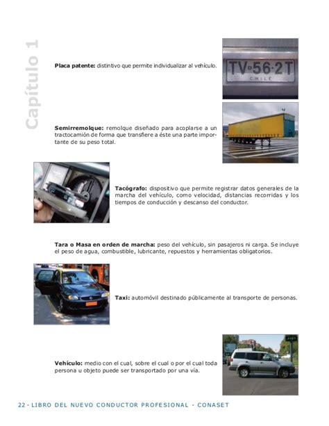 libro del nuevo conductor profesional de conaset libro del nuevo conductor profesional