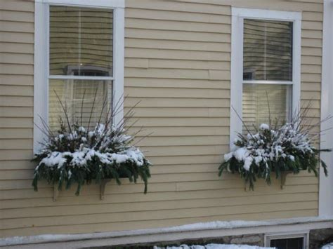 easy window boxes 17 best images about winter porch decor for after