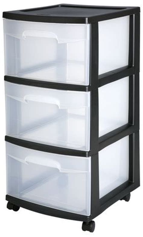 3 drawer plastic storage walmart sterilite 3 drawer black medium cart walmart ca