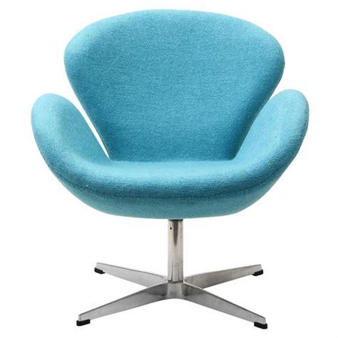 baby blue desk chair jacobsen swan chair wool baby blue