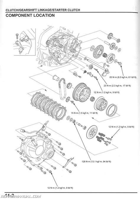manual repair free 1999 honda civic engine control 2014 2015 honda cbr650 f fa motorcycle service manual
