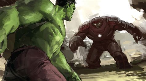 hulk iron hulkuster artwork hd movies wallpapers