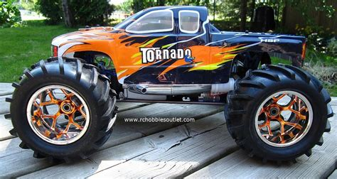 Used Rc Cars For Sale Calgary New 1 8 Scale Tornado Pro Nitro 4wd Rc Truck Outside