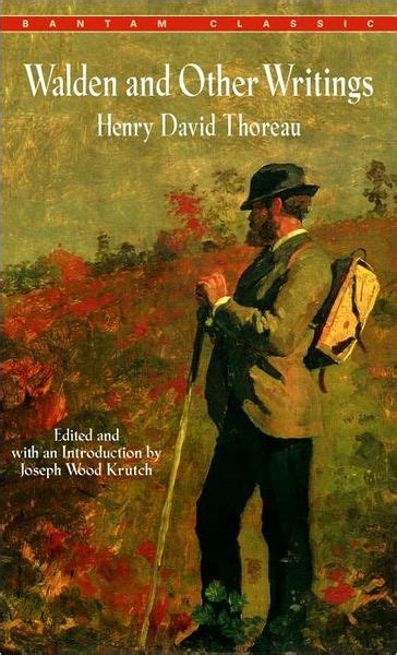 walden book barnes and noble walden and other writings by henry david thoreau