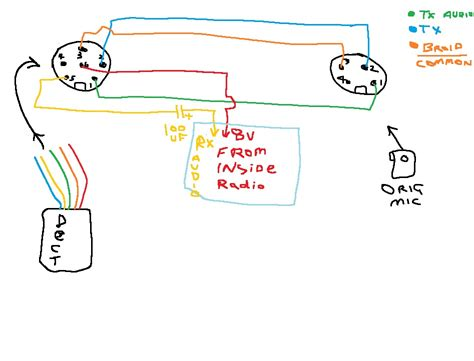 5 pin cb microphone wiring diagram wiring diagram