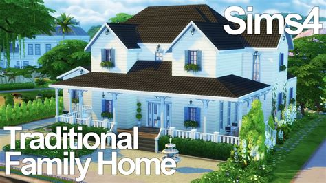 traditional home the sims 4 speed build
