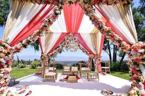 luxury outdoor wedding ceremony inspiration sonal