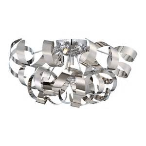 Quoizel Flush Mount Ceiling Light Quoizel Rbn1622 Ribbons Large Flush Mount Ceiling Light Atg Stores
