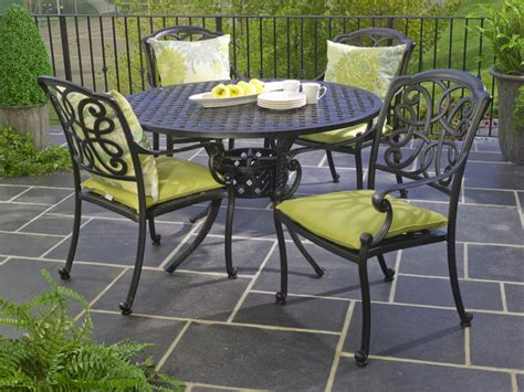 Hauser Niagara Cast Aluminum Outdoor Dining Patio Patio Dining Sets Toronto