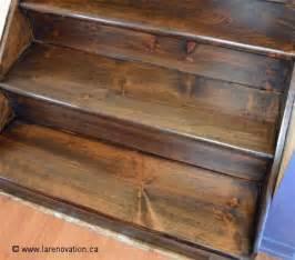 comment r 233 nover le rev 234 tement d un escalier en bois