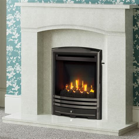 Modern Marble Fireplaces by Be Modern Ellerton Marble Fireplace Flames Co Uk