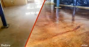 Floor Refinishing Cost by Decorative Concrete Flooring Hawk Cfc