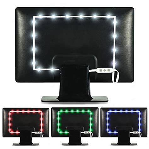 bias lighting for computer monitor luminoodle color computer monitor backlight 15 color