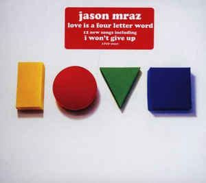 is a four letter word album cover jason mraz is a four letter word cd album at discogs