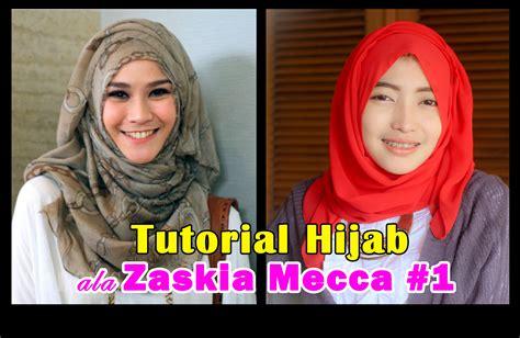 tutorial hijab pashmina ala zaskia mecca tutorial hijab pashmina page 6