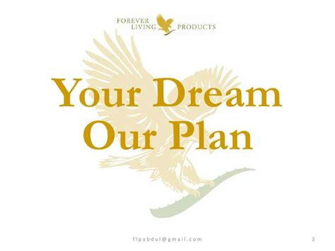 planning your dreams flp business opportunity part 01