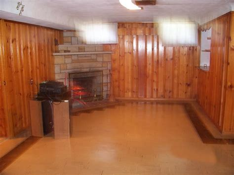Wood Paneling Basement | home basement pine paneling installation how to build a