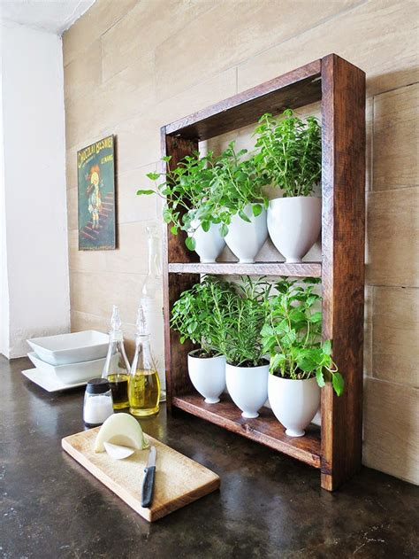 diy herb garden modish main 100 diy projects to upgrade your home