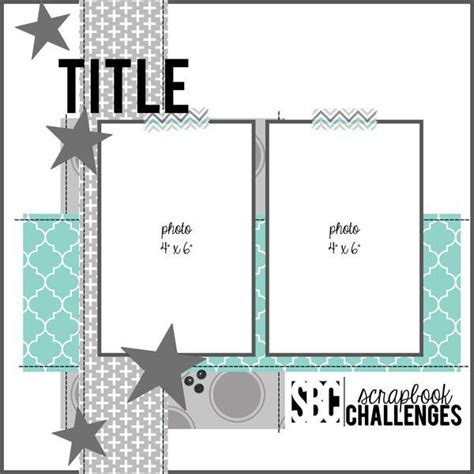 scrapbooking layout templates best 25 scrapbook layouts ideas on