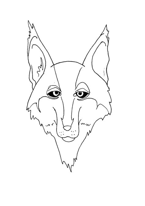 coloring page wolf head wolf head howling coloring pages