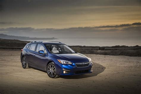 subaru impreza hatchback 2017 all new 2017 subaru impreza bows in new york automobile