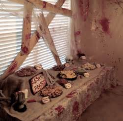 Zombie Decorations For Halloween Walking Dead Party On Pinterest Zombie Party Zombie