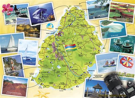 mauritius attractions map of mauritius holiday attractions mauritius attractions