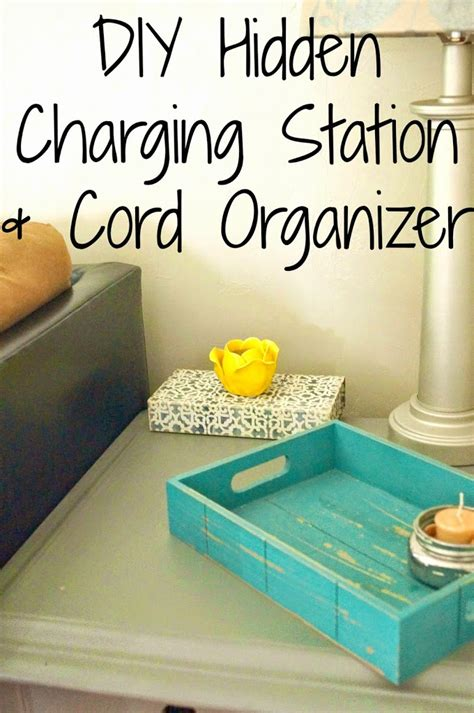 charging station organizer diy diy charging station cord organizer house to new home