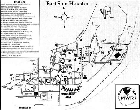 fort sam houston texas map fort sam houston map aphisvirtualmeet