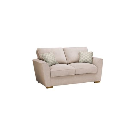 Aero Sofa Bed by Nebraska 2 Seater Sofa Bed With Deluxe Mattress In Aero Fawn