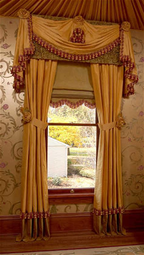 traditional drapery victorian music study traditional curtains chicago