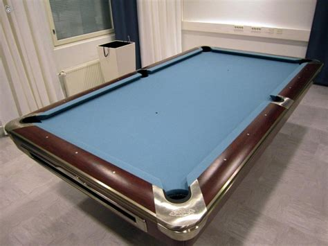 Blue Pool Table Brunswick Gold Crown V Pool Table Second Hand Suomen