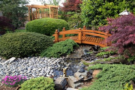 garden footbridge 24 captivating backyard garden bridge ideas remodeling