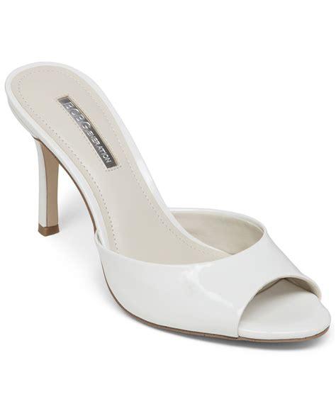 white dress sandals for bcbgeneration disco slide dress sandals in white white