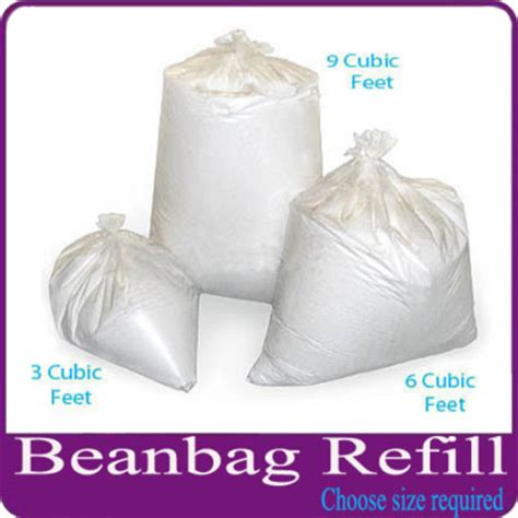 bean bag filling material bean bag top up refill filler filling free post