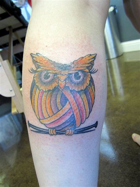 owl knitting tattoo pinterest the world s catalog of ideas