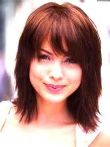 shoulder length hair with wispy bangs 15 medium length bob with bangs bob hairstyles 2017