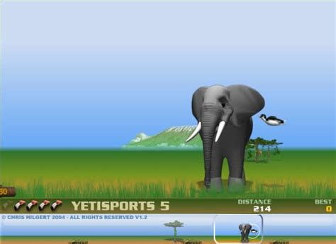 yetisports  flamingo drive darmowa gra  funnygames