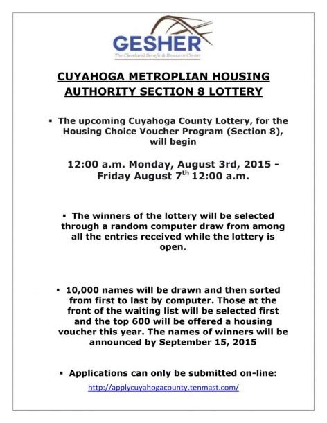 section 8 lottery opening section 8 lottery 2015 28 images section 8 waiting