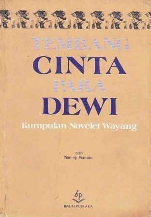 Buku Sastra Balai Pustaka Barmin Misteri Wadasmerah tembang cinta para dewi carra s library