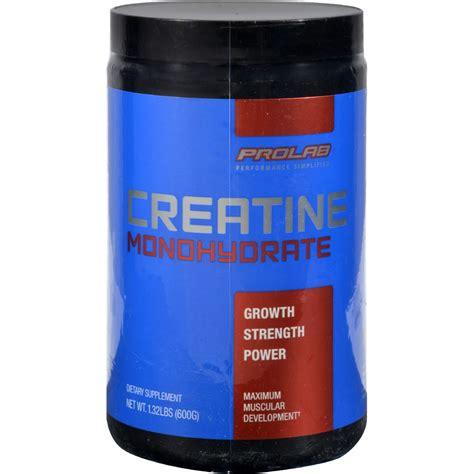 1 5 g creatine prolab nutrition creatine monohydrate 1 32 lbs 600 g