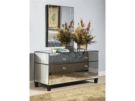 Mirrored Dressers And Nightstands Mirrored Furniture Chests Nightstands Tables