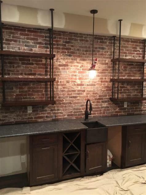 Interior Veneer Installation by Vintage Brick Veneer Brick Veneer Installation Tips