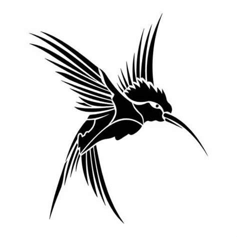 hummingbird tribal tattoo designs tribal hummingbird design