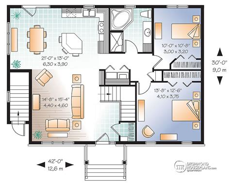 basement apartment plans rustic mountain house floor plan with walkout basement 17