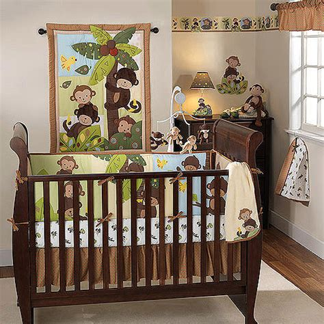 Bedtime Originals By Lambs Ivy Curly Tails 3pc Crib Lambs And Jungle Crib Bedding